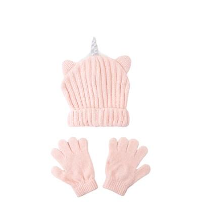 Alternate view of Unicorn Beanie - Little Kid - Pink