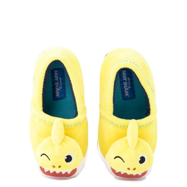Baby Shark Slipper - Toddler - Yellow