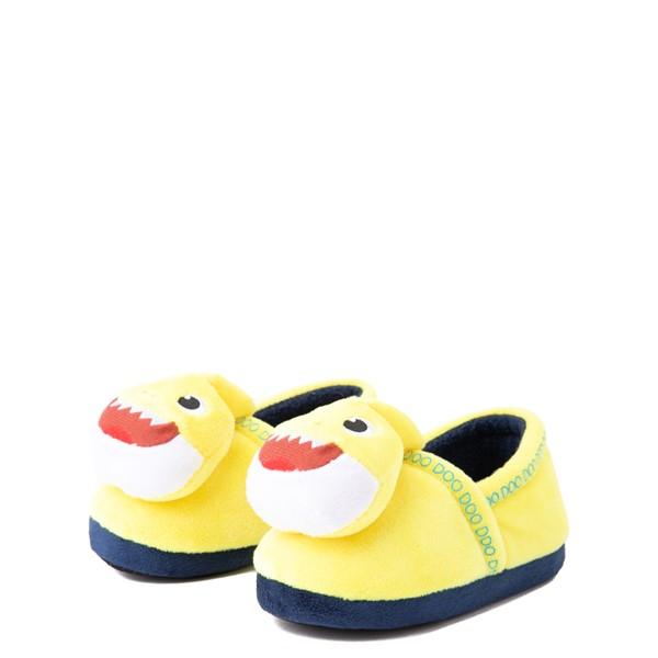 alternate view Baby Shark Slipper - Toddler - YellowALT3