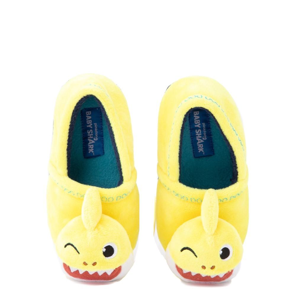 Baby Shark Slipper - Toddler - Yellow