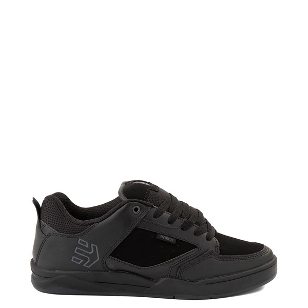 Main view of Mens etnies Cartel Skate Shoe - Black / Gray