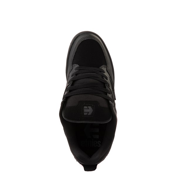 alternate view Mens etnies Cartel Skate Shoe - Black / GrayALT2