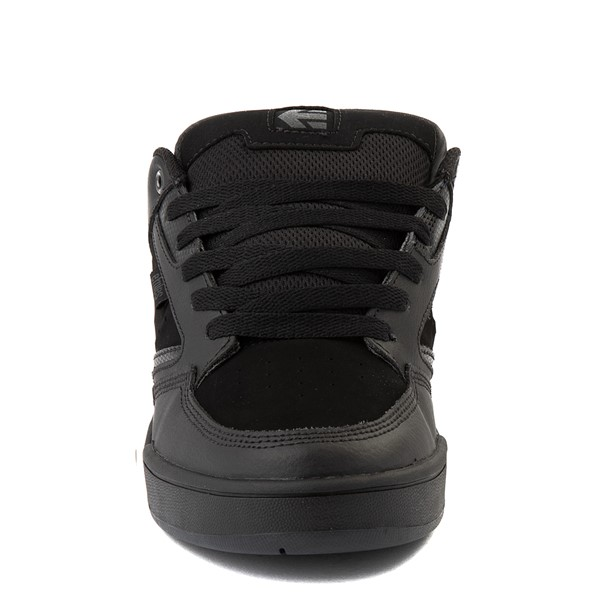 alternate view Mens etnies Cartel Skate Shoe - Black / GrayALT4