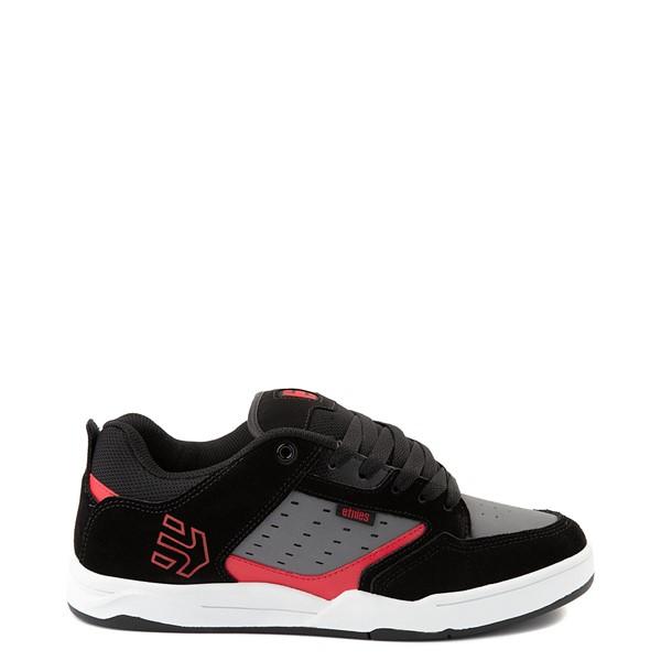 Mens etnies Cartel Skate Shoe - Black / Gray / Red