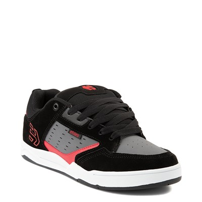 Alternate view of Mens etnies Cartel Skate Shoe - Black / Gray / Red