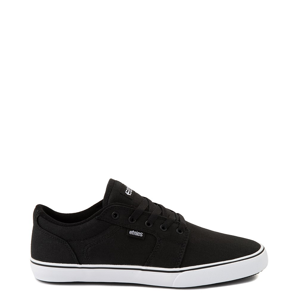 Mens etnies Division Vulc Skate Shoe - Black