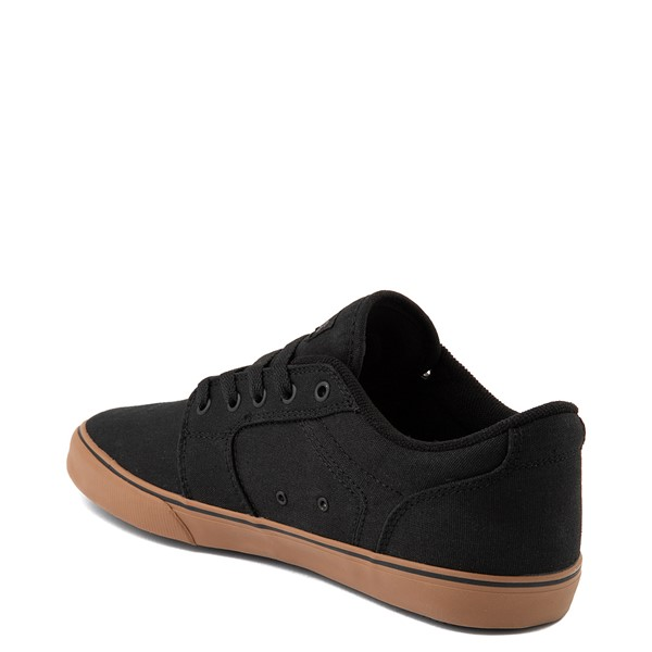 alternate view Mens etnies Division Vulc Skate Shoe - Black / GumALT2