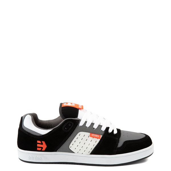 Mens etnies Rockfield Skate Shoe - Black / White / Orange