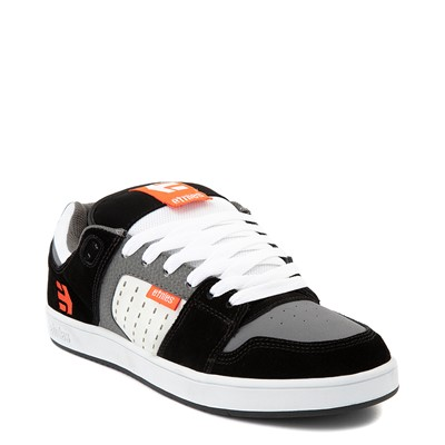 Alternate view of Mens etnies Rockfield Skate Shoe - Black / White / Orange
