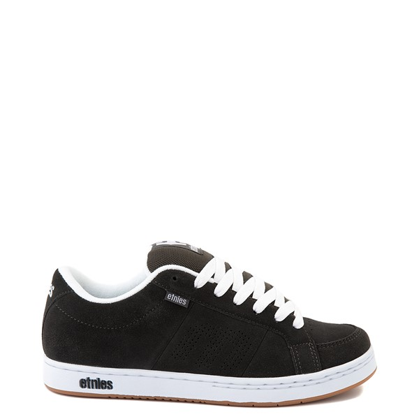 Mens etnies Kingpin Skate Shoe - Charcoal