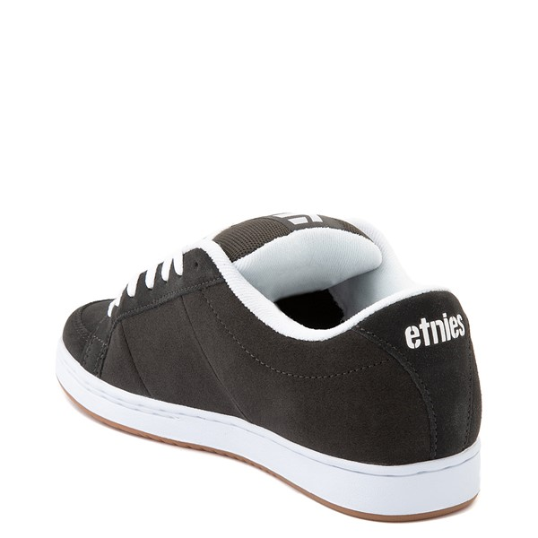 alternate view Mens etnies Kingpin Skate Shoe - CharcoalALT2