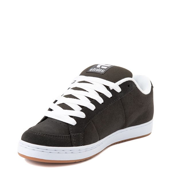 alternate view Mens etnies Kingpin Skate Shoe - CharcoalALT3