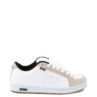 Main view of Mens etnies Kingpin Skate Shoe - White / Gum