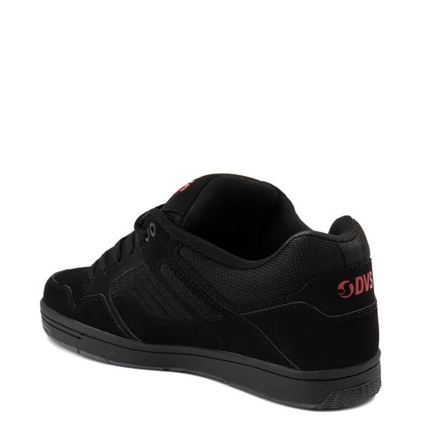 alternate view Mens DVS Enduro 125 Skate Shoe - Black / RedALT2