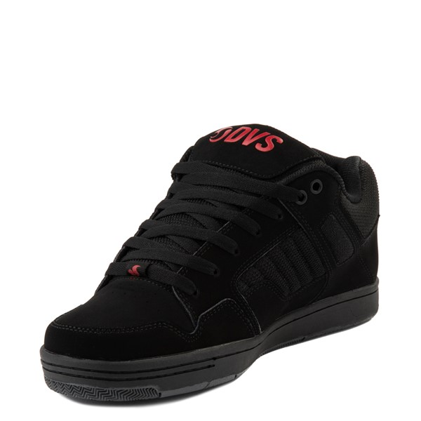 alternate view Mens DVS Enduro 125 Skate Shoe - Black / RedALT3