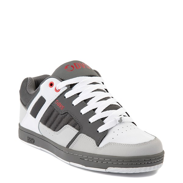 alternate view Mens DVS Enduro 125 Skate Shoe - Charcoal / WhiteALT1