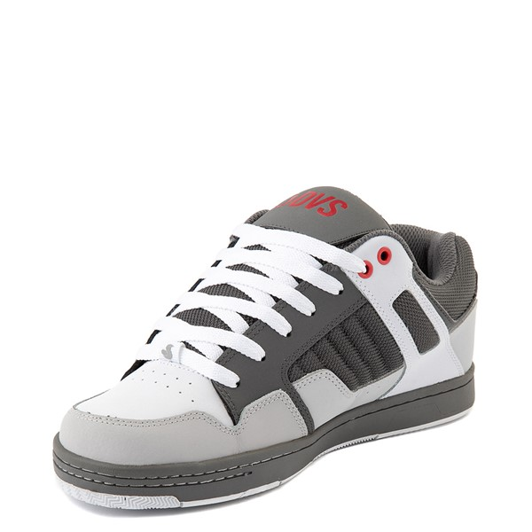 alternate view Mens DVS Enduro 125 Skate Shoe - Charcoal / WhiteALT3