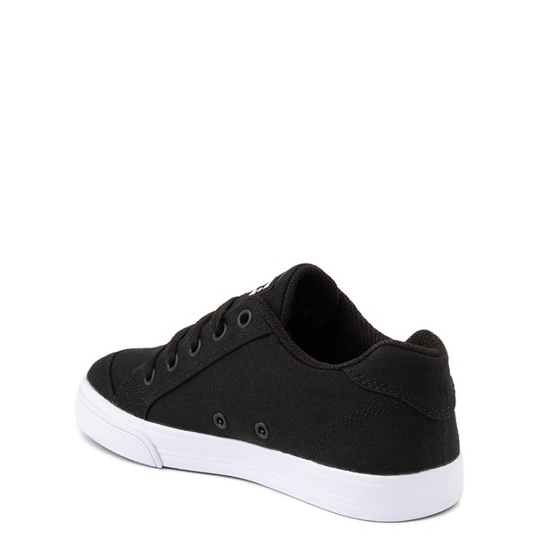 alternate view DC Chelsea TX Skate Shoe - Little Kid / Big Kid - Black / PinkALT2