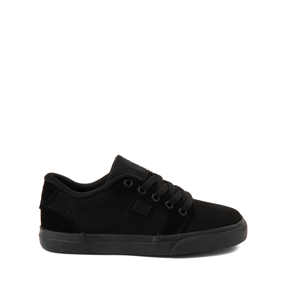 DC Anvil Skate Shoe - Little Kid / Big Kid - Black Monochrome