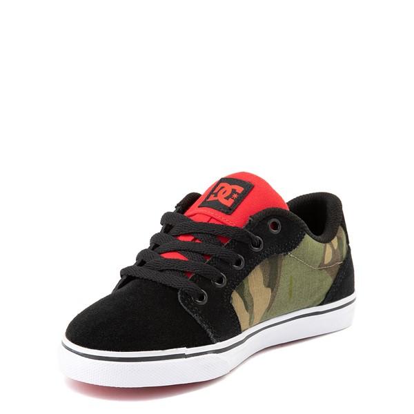 alternate view DC Anvil Skate Shoe - Little Kid / Big Kid - Black MultiALT3