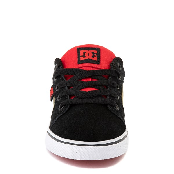 alternate view DC Anvil Skate Shoe - Little Kid / Big Kid - Black MultiALT4