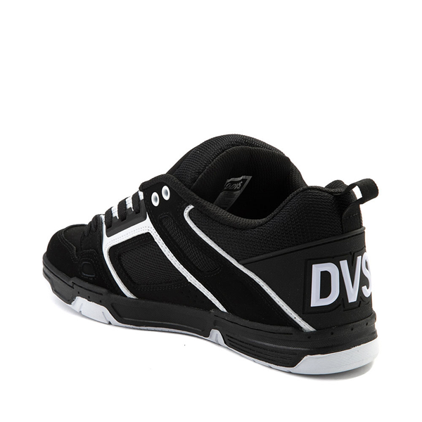 alternate view Mens DVS Comanche Skate Shoe - Black / WhiteALT1