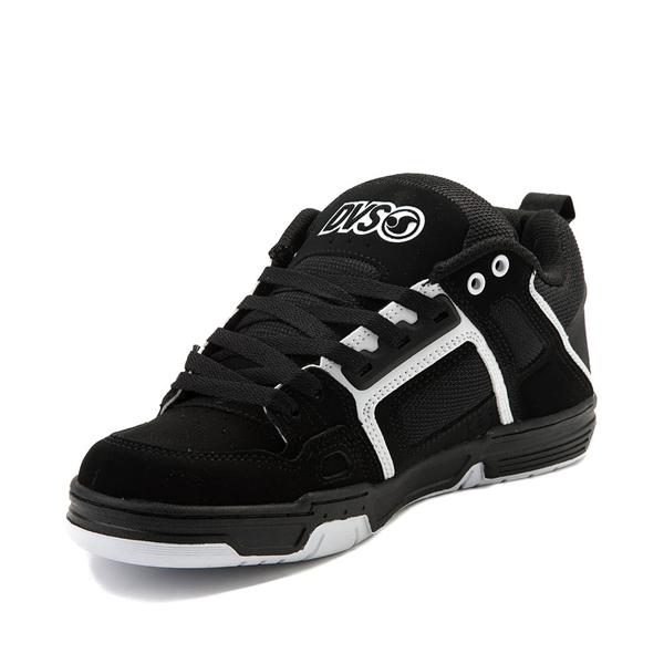 alternate view Mens DVS Comanche Skate Shoe - Black / WhiteALT2