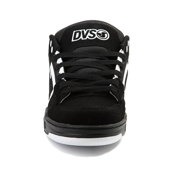 alternate view Mens DVS Comanche Skate Shoe - Black / WhiteALT4
