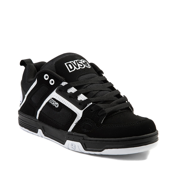 alternate view Mens DVS Comanche Skate Shoe - Black / WhiteALT5