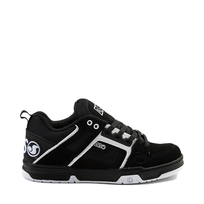 Main view of Mens DVS Comanche Skate Shoe - Black / White