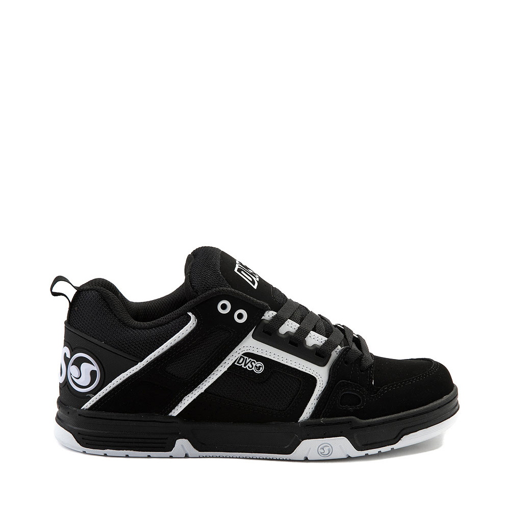 Mens DVS Comanche Skate Shoe - Black / White