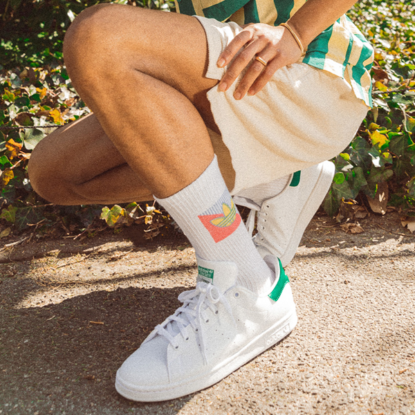 alternate view Mens adidas Stan Smith Athletic Shoe - White / Fairway GreenALT1B