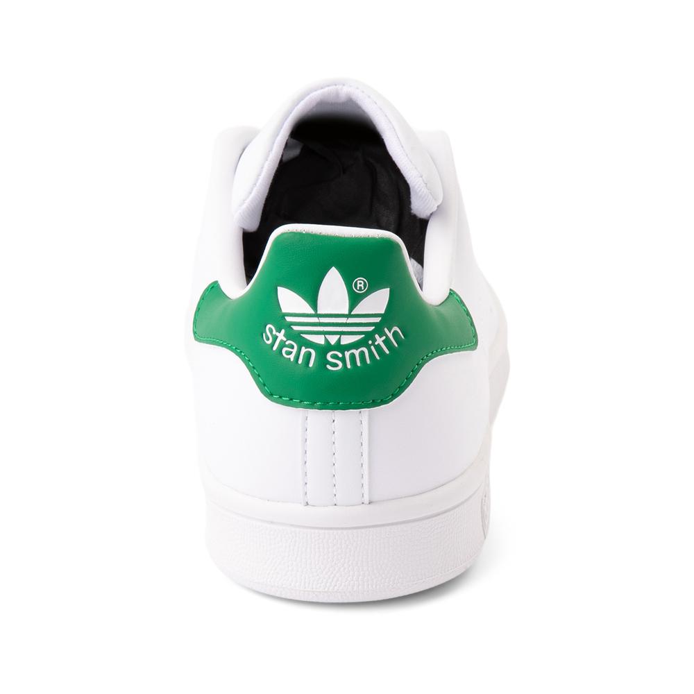 Mens adidas Stan Smith Athletic Shoe - White / Fairway Green