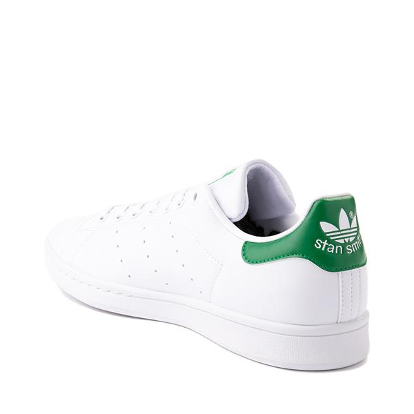 alternate view Womens adidas Stan Smith Athletic Shoe - White / Fairway GreenALT1