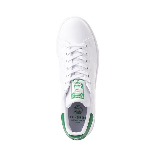 alternate view Womens adidas Stan Smith Athletic Shoe - White / Fairway GreenALT2