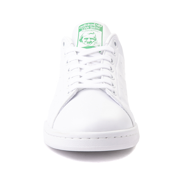 alternate view Womens adidas Stan Smith Athletic Shoe - White / Fairway GreenALT4