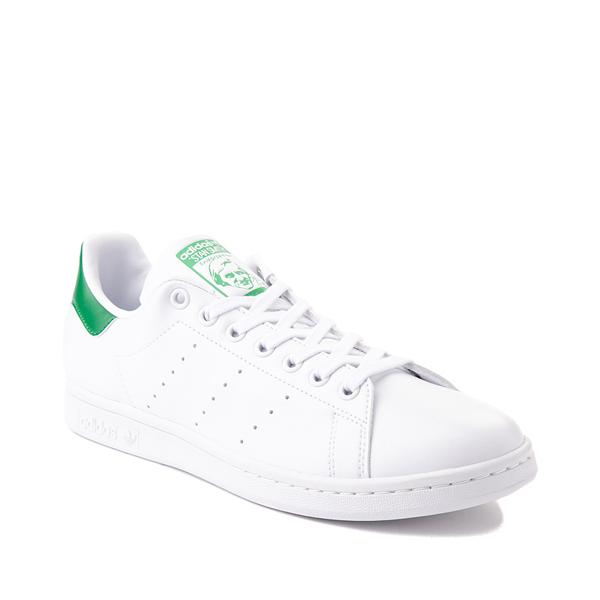 alternate view Womens adidas Stan Smith Athletic Shoe - White / Fairway GreenALT5