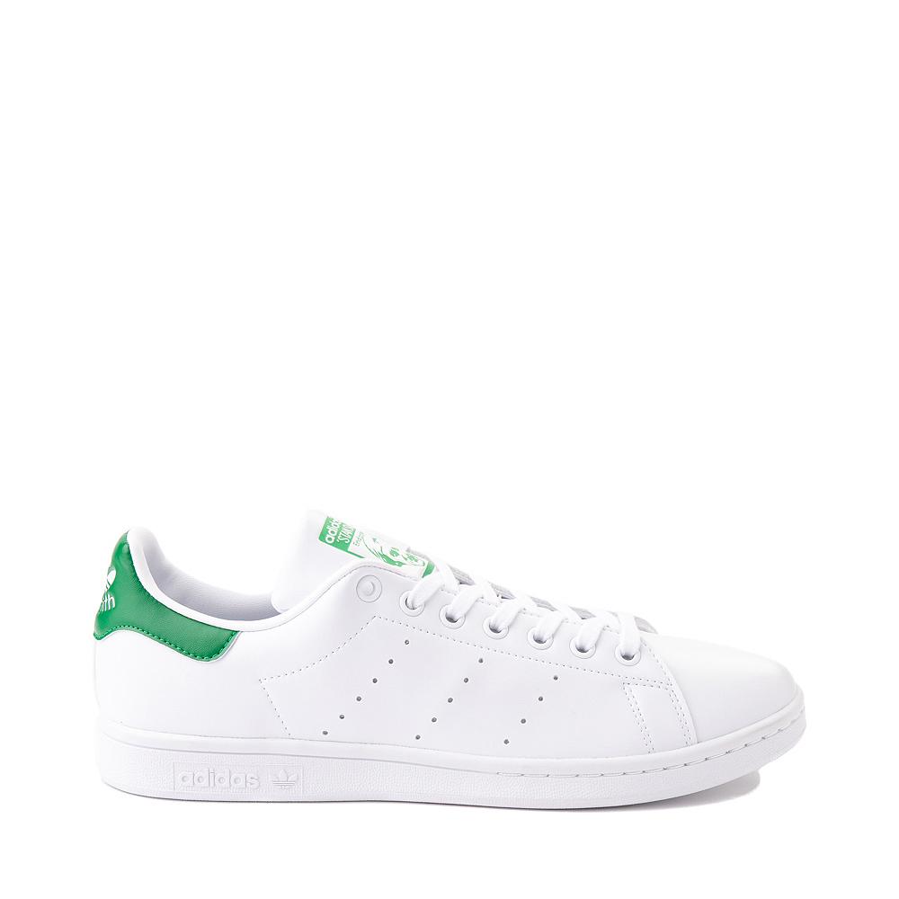 Womens adidas Stan Smith Athletic Shoe - White / Fairway Green