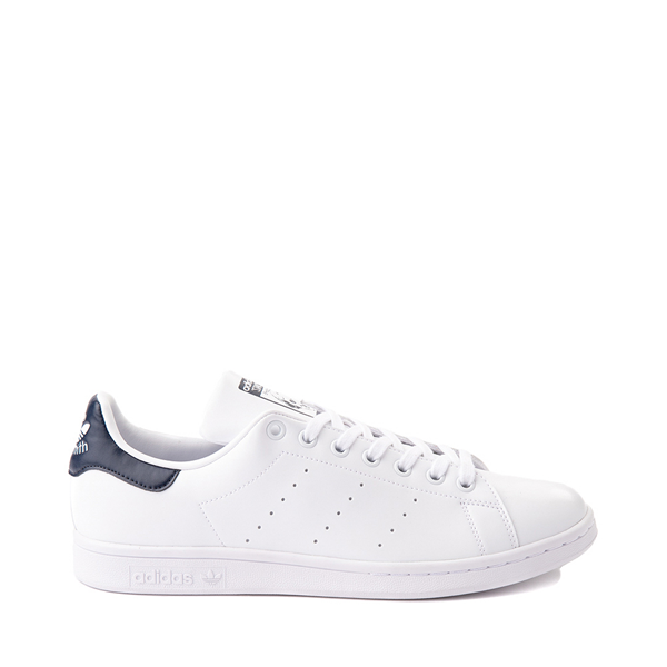 Main view of Womens adidas Stan Smith Athletic Shoe - White / Navy