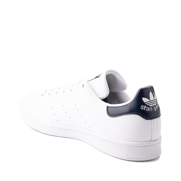 alternate view Womens adidas Stan Smith Athletic Shoe - White / NavyALT1