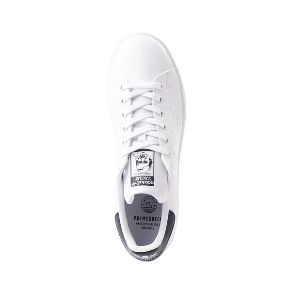 alternate view Womens adidas Stan Smith Athletic Shoe - White / NavyALT2