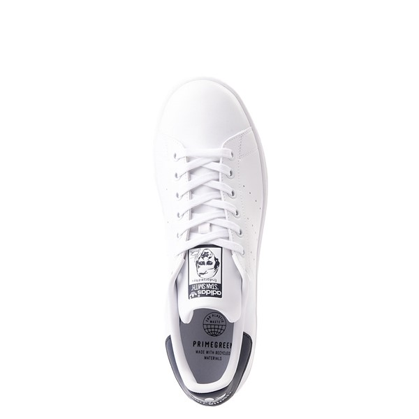 alternate view Womens adidas Stan Smith Athletic Shoe - White / NavyALT4B