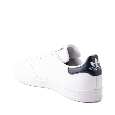 Alternate view of Womens adidas Stan Smith Athletic Shoe - White / Navy