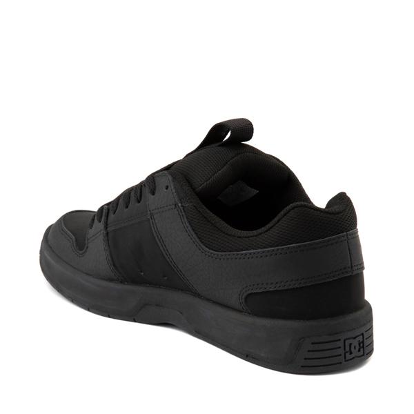 alternate view Mens DC Lynx Zero Skate Shoe - Black MonochromeALT1