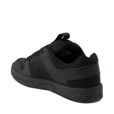 Alternate view of Mens DC Lynx Zero Skate Shoe - Black Monochrome