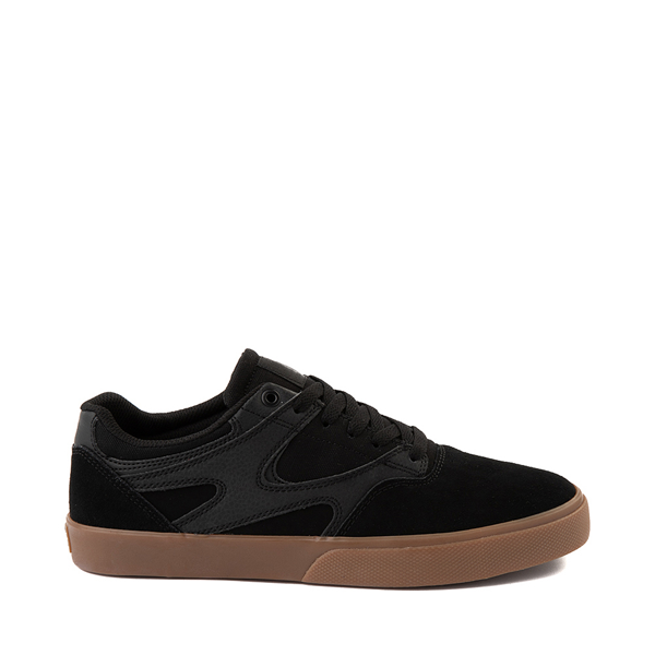 Main view of Mens DC Kalis Vulc Skate Shoe - Black / Gum