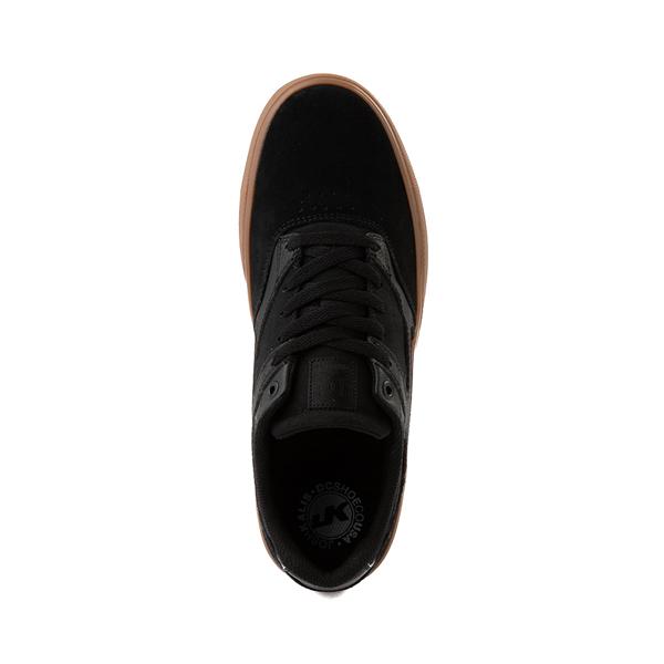 alternate view Mens DC Kalis Vulc Skate Shoe - Black / GumALT2