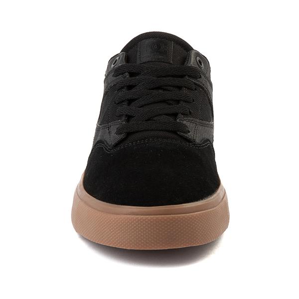 alternate view Mens DC Kalis Vulc Skate Shoe - Black / GumALT4