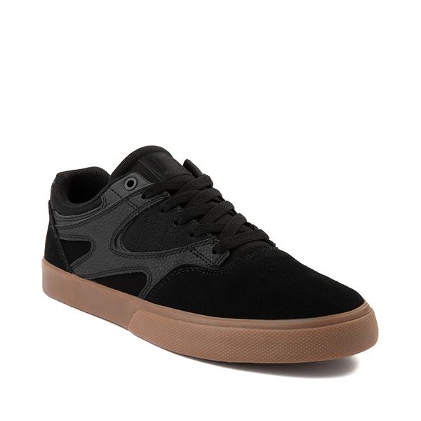 alternate view Mens DC Kalis Vulc Skate Shoe - Black / GumALT5