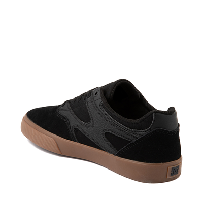 Alternate view of Mens DC Kalis Vulc Skate Shoe - Black / Gum